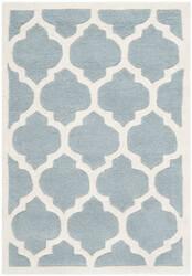 Safavieh Chatham Cht734b Blue / Ivory Area Rug