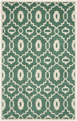 Safavieh Chatham Cht745t Teal / Ivory Area Rug