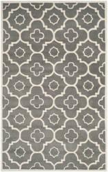 Safavieh Chatham Cht750d Dark Grey / Ivory Area Rug