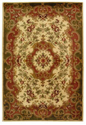 Safavieh Classic CL234C Ivory / Green Area Rug