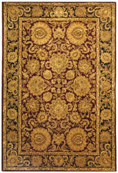 Safavieh Classic CL244A Burgundy / Gold Area Rug