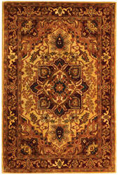 Safavieh Classic CL763A Light Gold / Red Area Rug