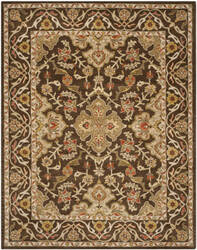 Safavieh Classic Cl931a Brown / Brown Area Rug