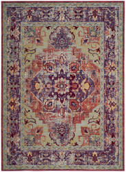 Safavieh Claremont Clr664a Purple - Coral Area Rug