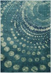Safavieh Constellation Vintage Cnv749 Turquoise - Multi Area Rug