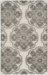 Safavieh Cottage Cot911c Cream - Grey Area Rug