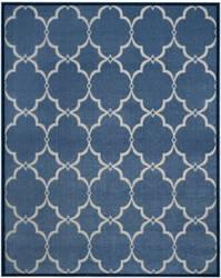 Safavieh Cottage Cot926k Blue - Creme Area Rug
