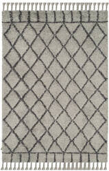 Safavieh Casablanca Shag Csb725c Grey - Dark Grey Area Rug