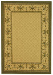 Safavieh Courtyard Cy0901-1e01 Natural / Olive Area Rug
