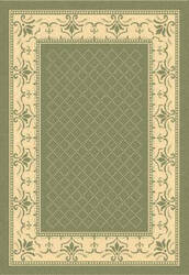 Safavieh Courtyard Cy0901-1e06 Olive / Natural Area Rug