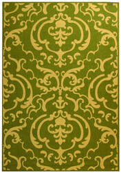 Safavieh Courtyard Cy2663-1e06 Olive / Natural Area Rug