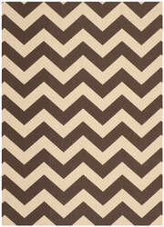 Safavieh Courtyard Cy6244-204 Dark Brown Area Rug