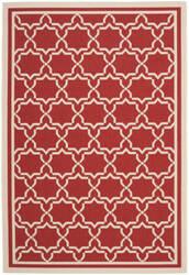 Safavieh Courtyard Cy6916-248 Red / Bone Area Rug