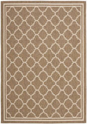Safavieh Courtyard Cy6918-242 Brown / Bone Area Rug