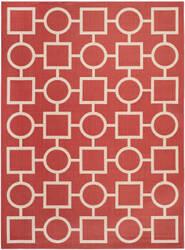 Safavieh Courtyard CY6925-248 Red / Bone Area Rug