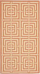 Safavieh Courtyard Cy6937-21 Terracotta / Cream Area Rug