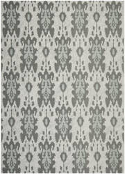 Safavieh Courtyard CY7276-78A18 Light Gray Anthracite / Aqua Weft Area Rug