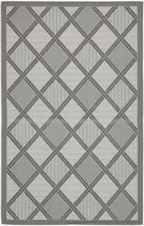 Safavieh Courtyard Cy7570-78a5 Light Grey / Anthracite Area Rug