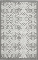 Safavieh Courtyard Cy7931-78a18 Light Grey / Anthracite Area Rug