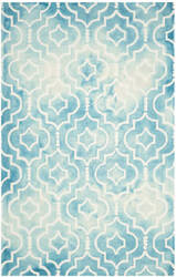 Safavieh Dip Dye Ddy538d Turquoise - Ivory Area Rug