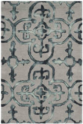 Safavieh Dip Dye Ddy711b Grey - Charcoal Area Rug