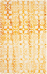 Safavieh Dip Dye Ddy711c Ivory - Gold Area Rug