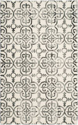 Safavieh Dip Dyed Ddy711d Ivory - Charcoal Area Rug