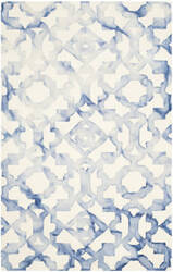 Safavieh Dip Dyed Ddy717a Ivory - Blue Area Rug