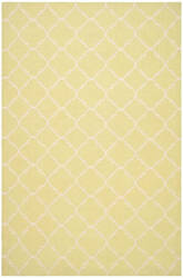 Safavieh Dhurries Dhu554a Light Green / Ivory Area Rug
