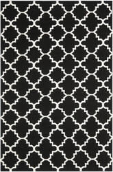 Safavieh Dhurries DHU554L Black / Ivory Area Rug