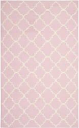 Safavieh Dhurries DHU554P Pink / Ivory Area Rug