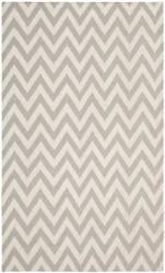 Safavieh Dhurries DHU557C Grey / Ivory Area Rug
