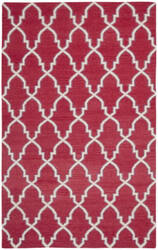 Safavieh Dhurries DHU564A Red / Ivory Area Rug