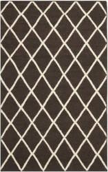 Safavieh Dhurries DHU565C Brown / Ivory Area Rug