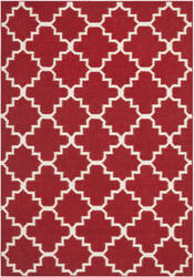 Safavieh Dhurries DHU566B Red / Ivory Area Rug