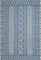 Safavieh Dhurries Dhu572a Dark Blue - Ivory Area Rug