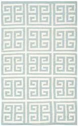 Safavieh Dhurries Dhu626a Blue / Ivory Area Rug