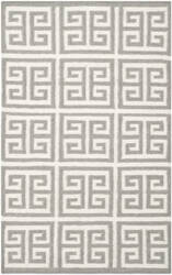 Safavieh Dhurries Dhu626b Grey / Ivory Area Rug