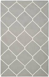 Safavieh Dhurries DHU635B Grey / Ivory Area Rug
