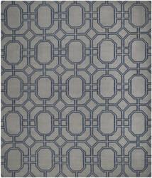 Safavieh Dhurries DHU860C Grey / Dark Blue Area Rug
