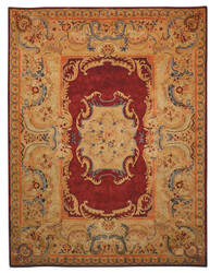 Safavieh Empire EM422A Burgundy / Gold Area Rug