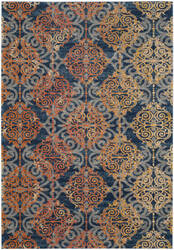 Safavieh Evoke Evk230s Blue - Orange Area Rug