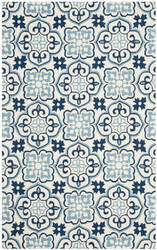 Safavieh Four Seasons Frs230b Blue - Ivory Area Rug