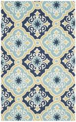 Safavieh Four Seasons Frs231a Navy - Light Blue Area Rug