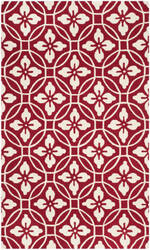 Safavieh Four Seasons Frs236r Red - Ivory Area Rug