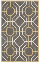 Safavieh Four Seasons Frs244c Dark Grey - Ivory Area Rug