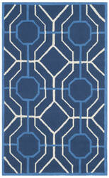 Safavieh Four Seasons Frs244h Navy - Ivory Area Rug