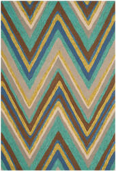 Safavieh Four Seasons Frs389a Blue - Multi Area Rug
