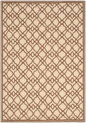 Safavieh Four Seasons Frs396a Ivory - Dark Brown Area Rug