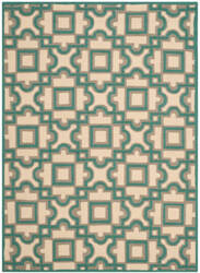 Safavieh Four Seasons Frs398b Ivory - Aqua Area Rug